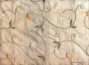 Photo: Soul of Spring 21 - 100% Silk Taffeta Embroidery