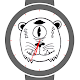 Absurd Monsters Watch Face (Black & white design) (app)