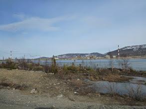 Photo: ...a uprostřed město Mončegorsk.