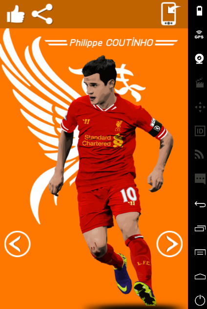 Philippe coutinho art wallpaper hd android apps on - Coutinho wallpaper hd ...
