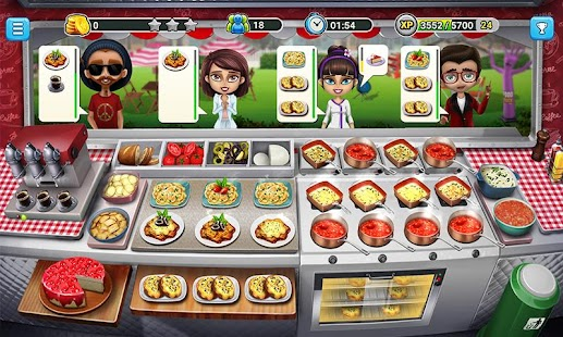 ApkMod1.Com Food Truck Chef Cooking Game + Mod (Unlimited Gold Coins) for Android Casual Game