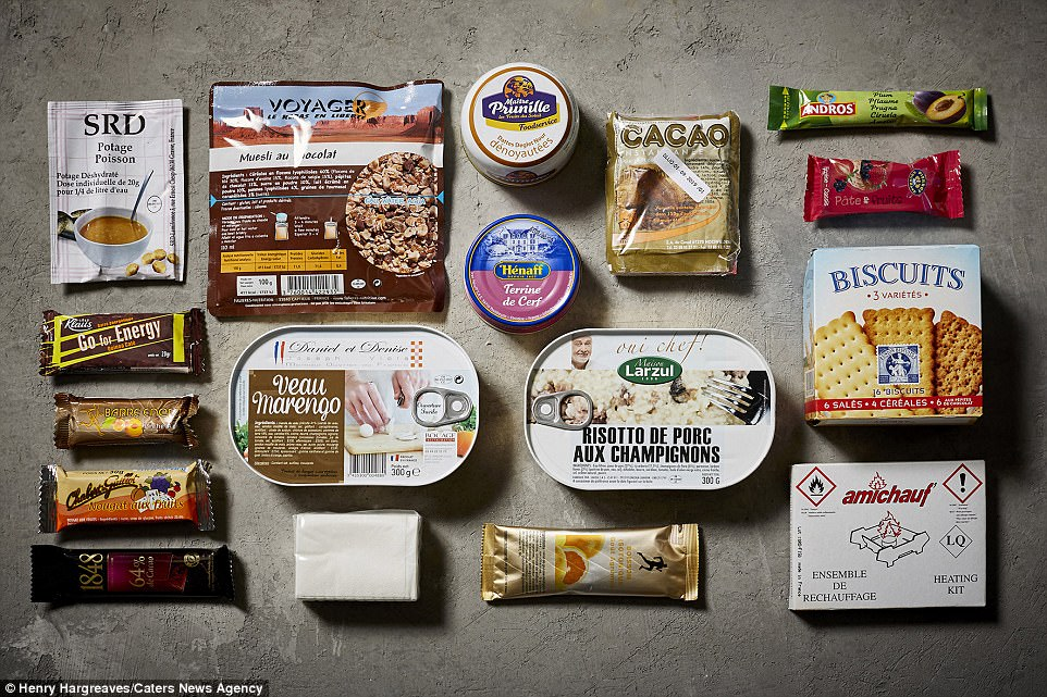 Ration Food Packs