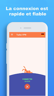 Turbo VPN – Unlimited Free VPN & Fast Security VPN Capture d'écran