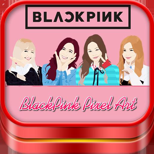 Blackpink Pixel Art Color By Number Kpop Blink Apl Di Google Play