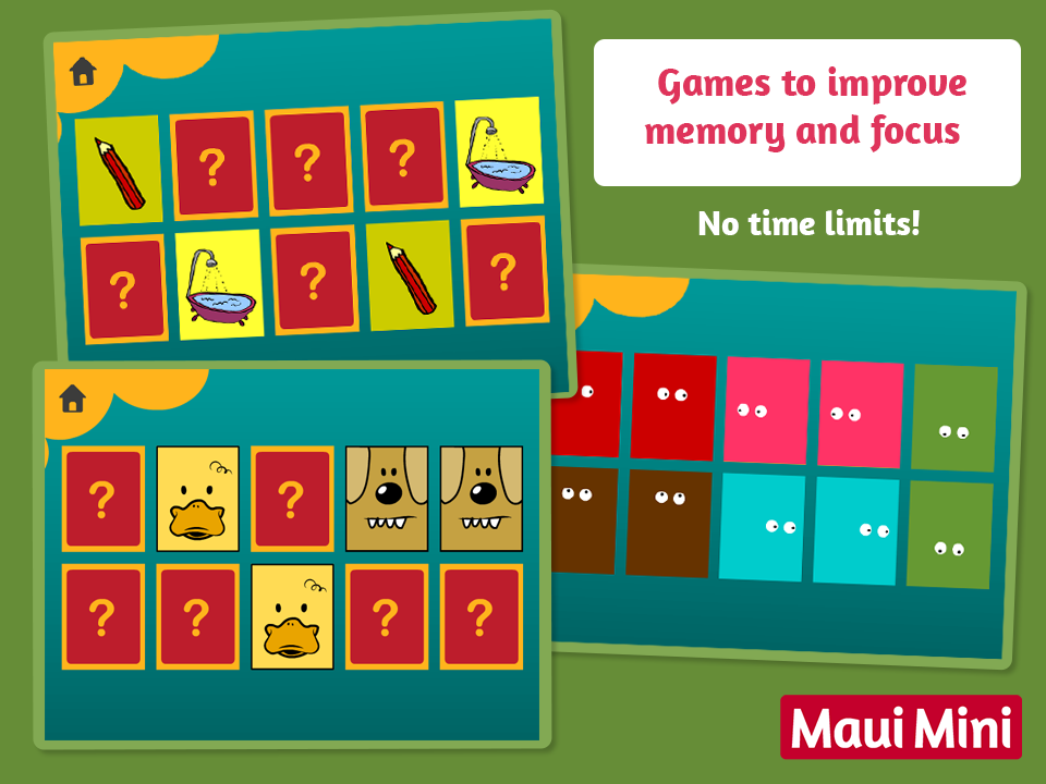 Maui Mini Educational Games- screenshot