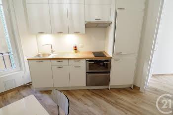Appartement meublé 3 pièces 49,29 m2