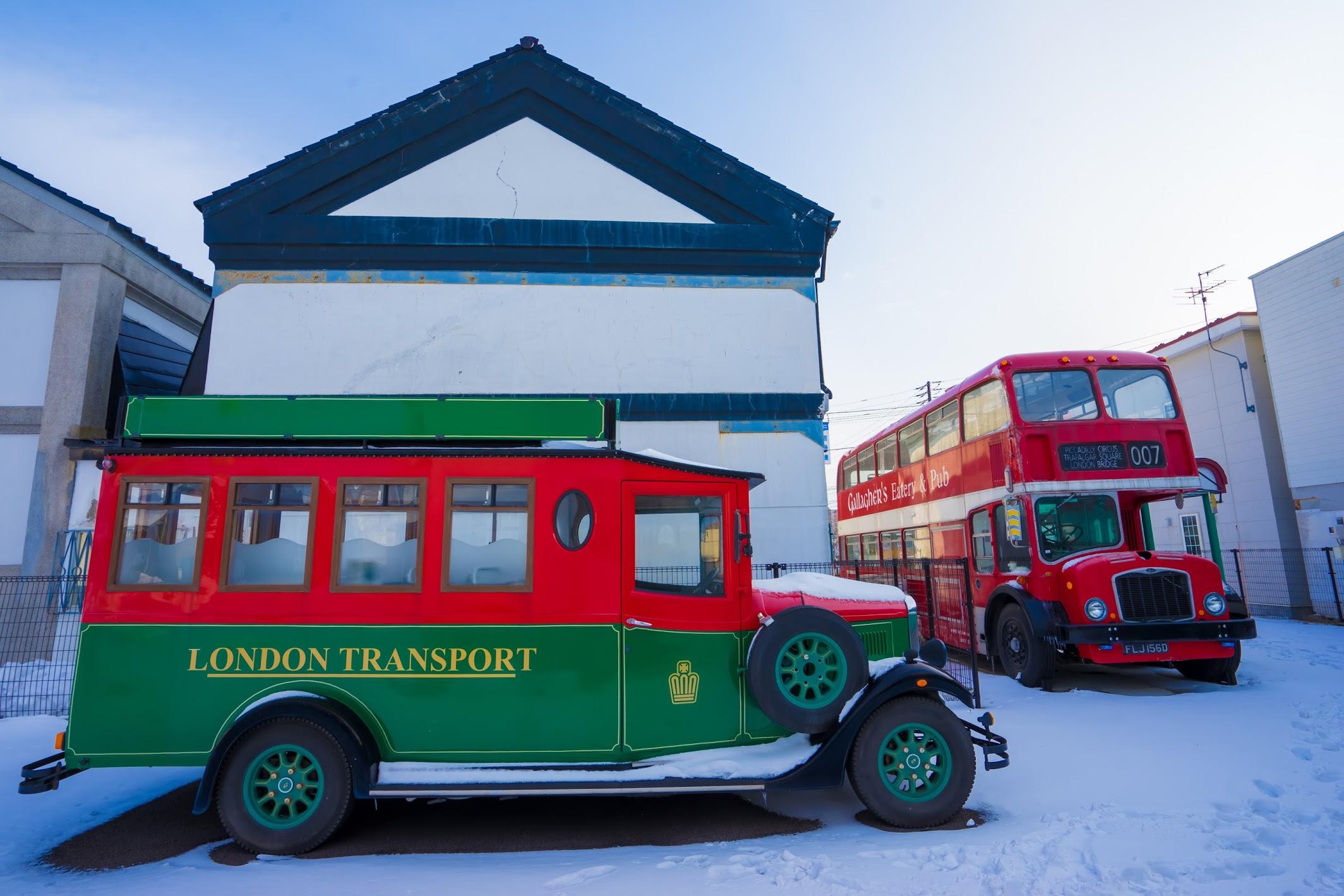 函館 ベイエリア ロンドンバス