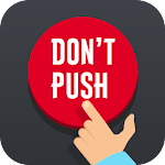 Red button: Do not click on it Icon