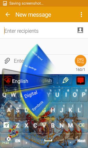 クリスマス雪のキーボード|玩個人化App免費|玩APPs