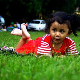 grass by Yosep Atmaja - Babies & Children Children Candids
