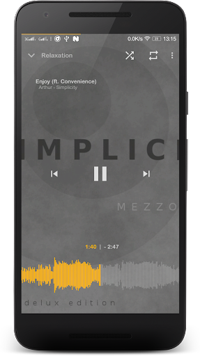Music Player Mezzo 2019.07.17 beta screenshots 2