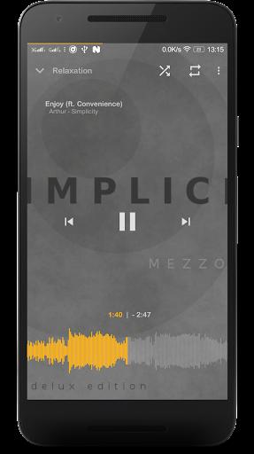 Music Player Mezzo 2019.04.23 beta screenshots 2