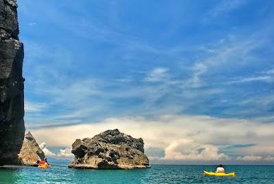 Day in the Islands by John Gray Sea Canoe