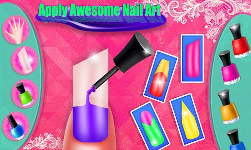 188dc9bd1986 Nail art makeover salon - dievčenské módne hry – Aplikácie v službe ...
