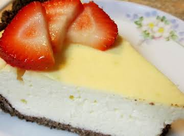 Sugar Free Wheat Free Cheesecake -- Low Carb!