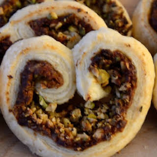 Date and Pistachio Palmiers.