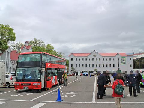ウィラー(網走バス)「レストランバス2018」 8888 式典準備中_01
