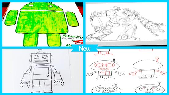 Descargar Robot de dibujo paso a paso APK 7.1 APK para Android ...