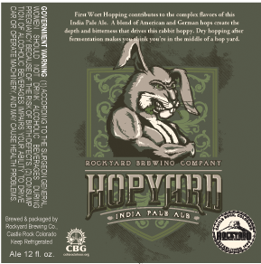 Logo of Rockyard Hopyard India Pale Ale