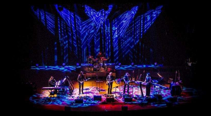 a live performance at the Van Wezel Performing Arts Hall in Sarasota, FL