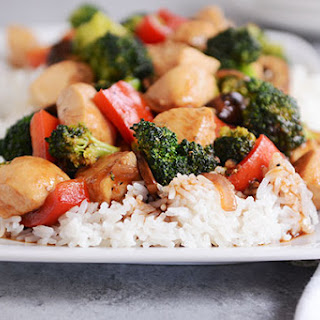20-Minute Chicken and Vegetable Stir Fry.