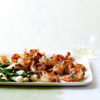Grilled Shrimp with Miso Butter