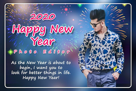 Download New Year Photo Editor 2020 For PC Windows and Mac apk screenshot 1