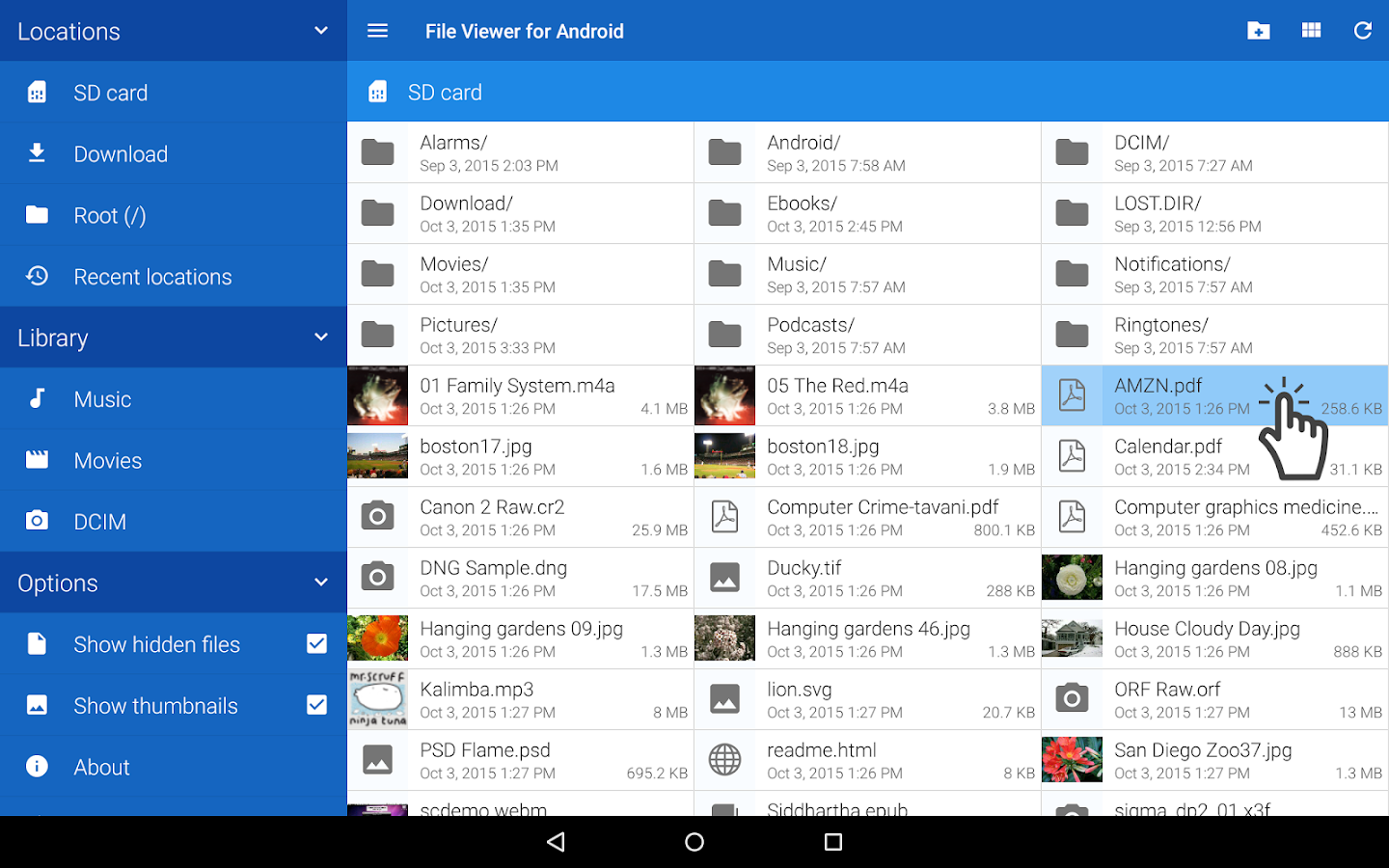 File Viewer for Android- screenshot