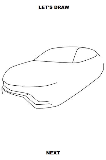 draw cars: suv screenshot 2