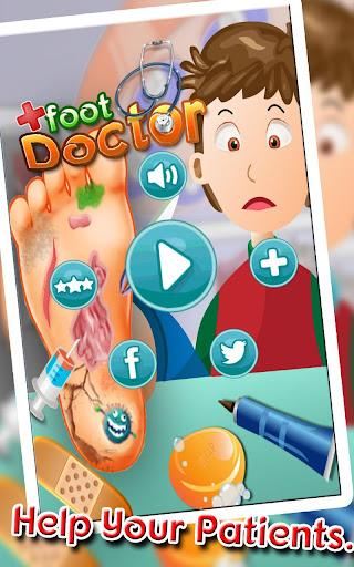 フットドクター:キッズカジュアルゲーム