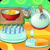 Tải Game Cooking cream cake birthday
