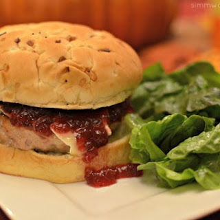 The Ultimate Thanksgiving Turkey Burger