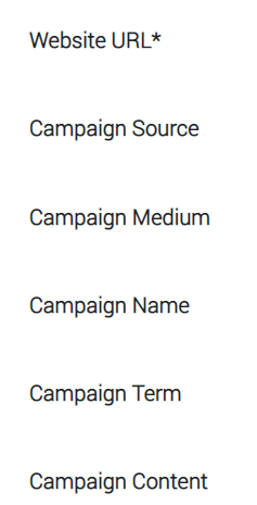 utm generator fields that need to be filled in