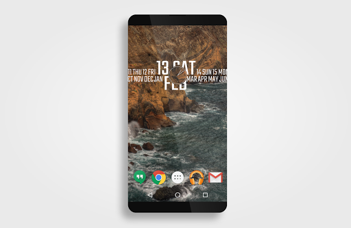 typographical zooper theme apps for android