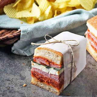 Italian Pressed Sandwich.