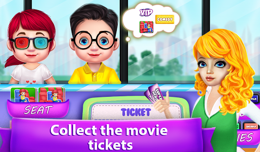 Family Friend Movie Night Out Party android2mod screenshots 5