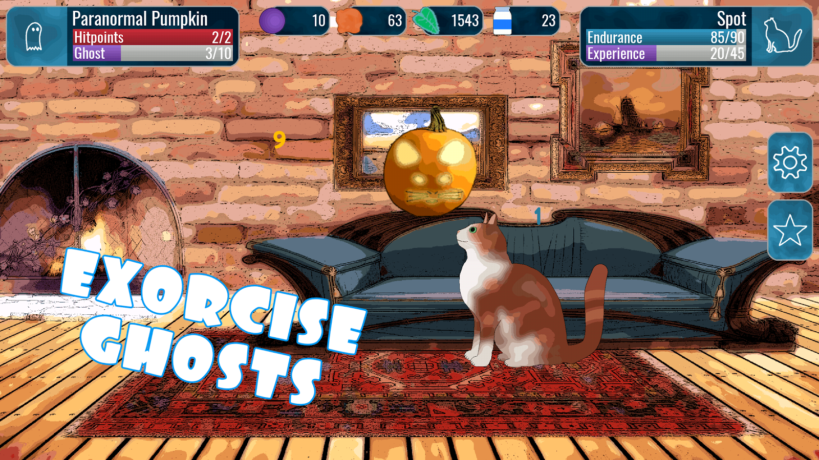 Cats Who Stare At Ghosts – Incremental Idle RPG- screenshot