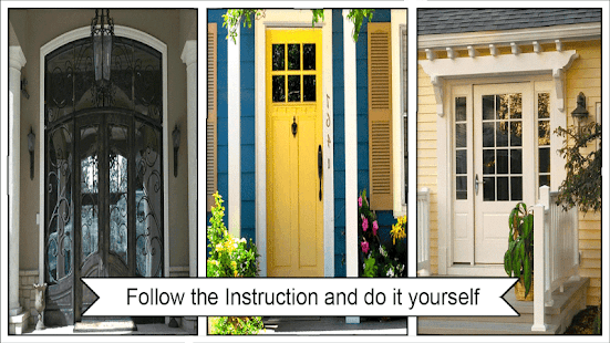 Awesome DIY Front Door Ideas - náhled