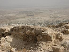 Photo: View of North Dead Sea from the Kipros fortress...מבט אל צפון ים המלח ממצודת הקפרוס