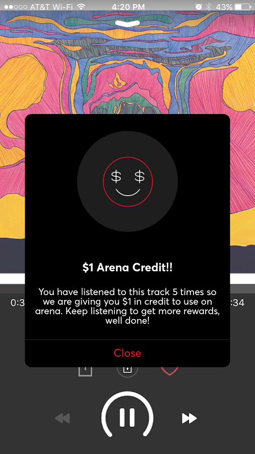 Arena Music- screenshot
