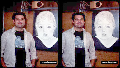 Photo: artist michaelm and son