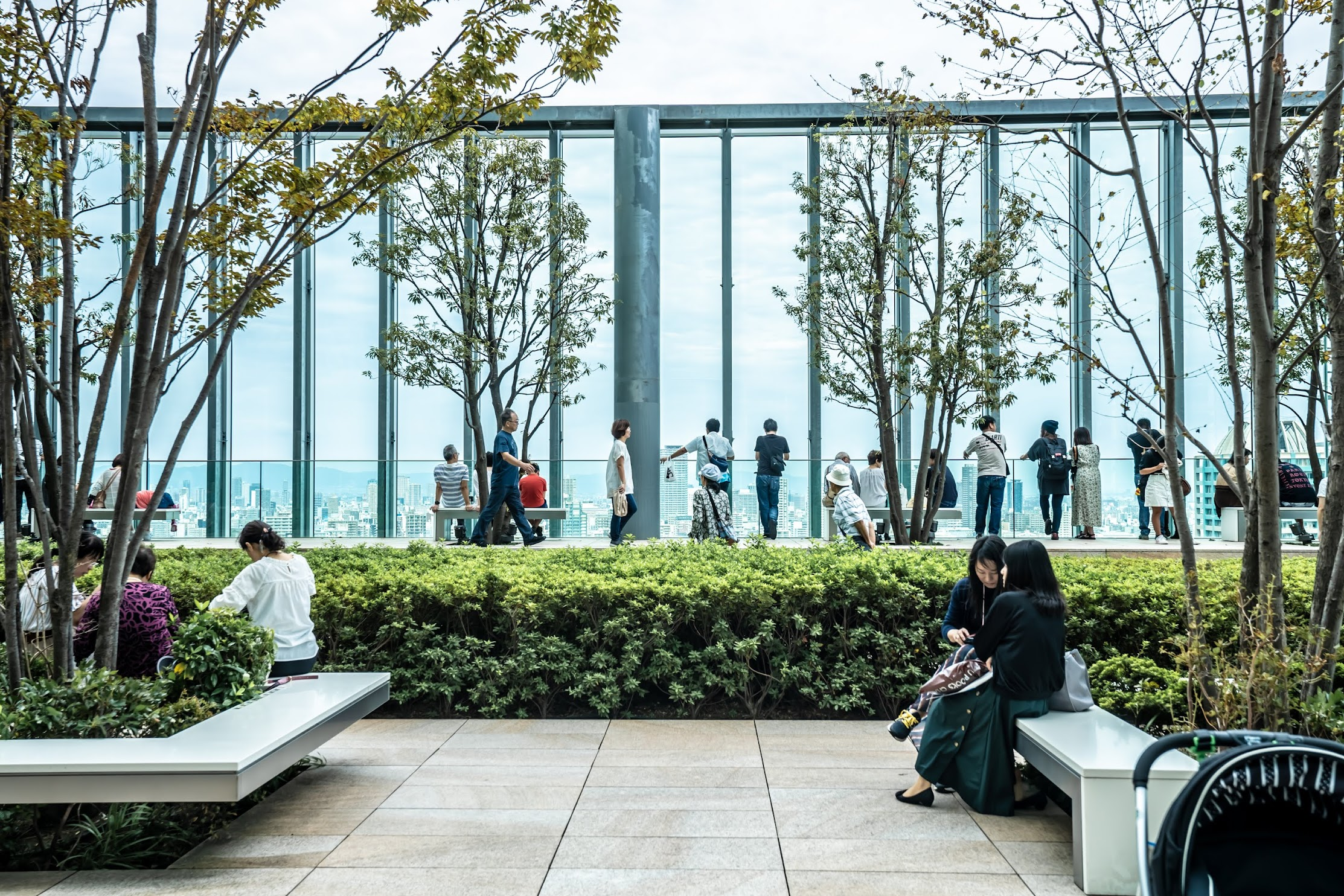 Abeno Harukas roof garden3