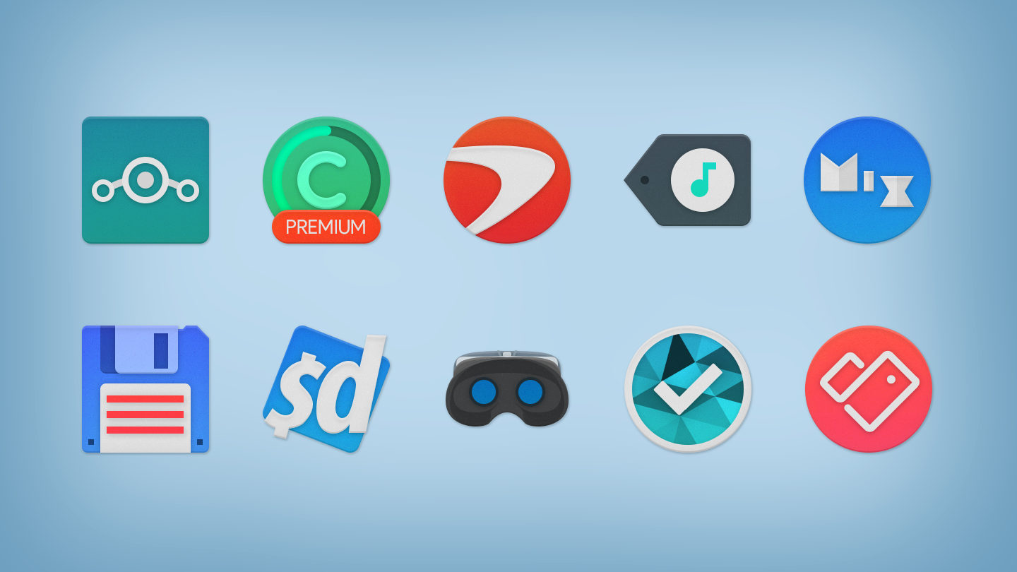 NOU - Icon Pack- screenshot