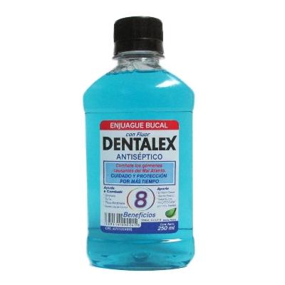 Enjuague Bucal Dentalex Menta Fresca Con Fluor 250Ml