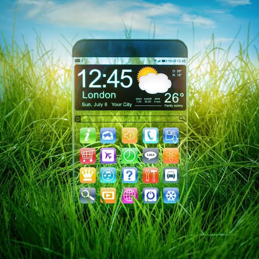 Transparent Screen Launcher screenshot 2