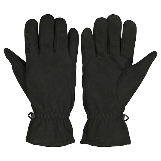 Bula Fleece Gloves Black Unisex strl L