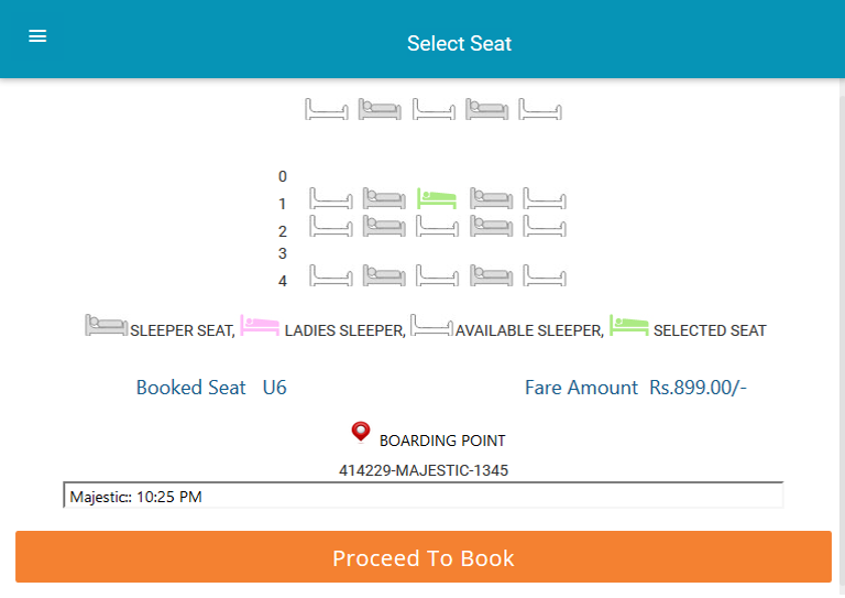 PUREBUS- BUS BOOKING- screenshot
