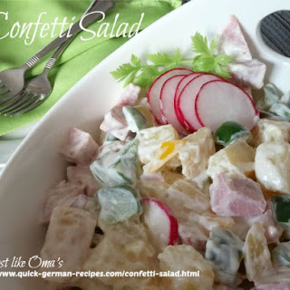 German Confetti Salad