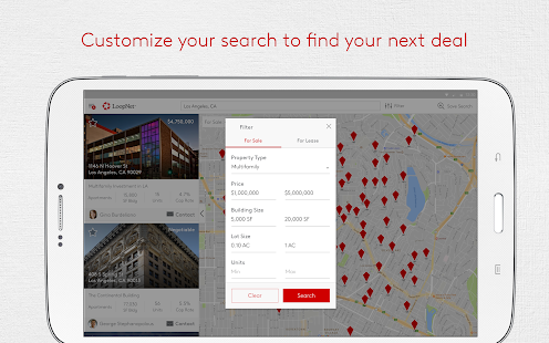 LoopNet - Commercial Real Estate Search- screenshot thumbnail