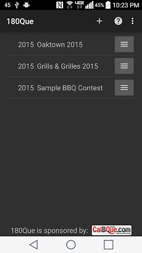 180Que BBQ Timeline Schedule